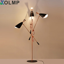 duke floor lamp for living room hotel sofa stand lamp Italy postmodern lighting quality adjustable head floor lamp