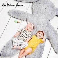 KUDIAN BEAR Soft Newborn Rabbit Stuffed Plush Baby Toys Kids Bed Accompany Doll Newborn Fun Toys 0 12 Months BYC375 PT49