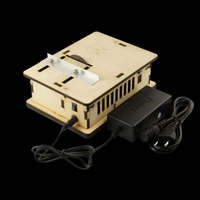 DIY Wooden Mini Table Saw Woodworking Chainsaw Cutting Machine With Power Supply