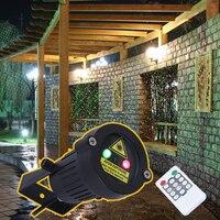 プレミアム屋外ガーデン装飾防水ip65クリスマスレーザースポットライト光スタープロジェクターシャワーでリモートコントローラ