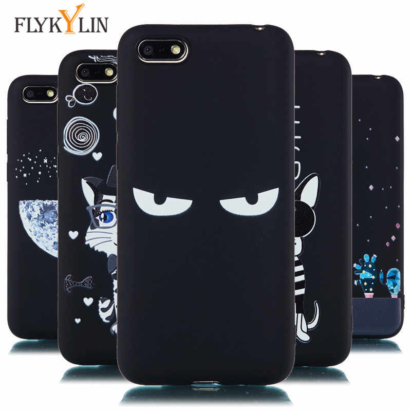 Honor 7A Case on sFor Coque Huawei Honor 7A DUA-L22 case 5.45 inch Soft Silicone Cover sFor Fundas Huawei Y5 2018 Prime Cases