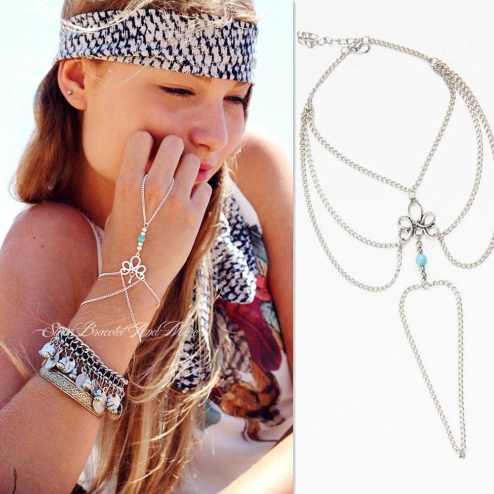 HTB1Lq0KKVXXXXcQXXXXq6xXFXXXn Bohemian Hand Slave Chain Jewelry With Fleur De Lis Accent