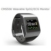 CMS50K Wearable SpO2/ECG Monitor