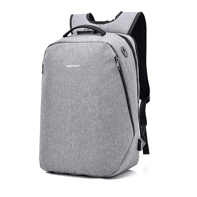 e3d6e34ab4a6 Large capacity Anti-theft Men s Business Backpack Multi-function usb charge  backpack newest casual fashion nylon Computer bags