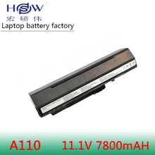 BLACK 7800mAh battery For Acer Aspire One A110 A150 D210 D150 D250 ZG5 UM08A31 UM08A32 UM08A51 UM08A52 UM08A71 UM08A72 UM08A73 pitatel bt 046hhbl аккумулятор для ноутбуков acer aspire one a110 a150 a250 d150 d250