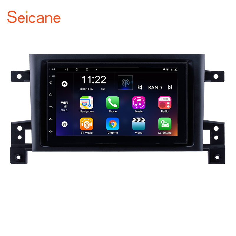 Seicane 2Din Android 8 1 7 GPS Navigation Car Radio Stereo Multimedia Player Head Unit For