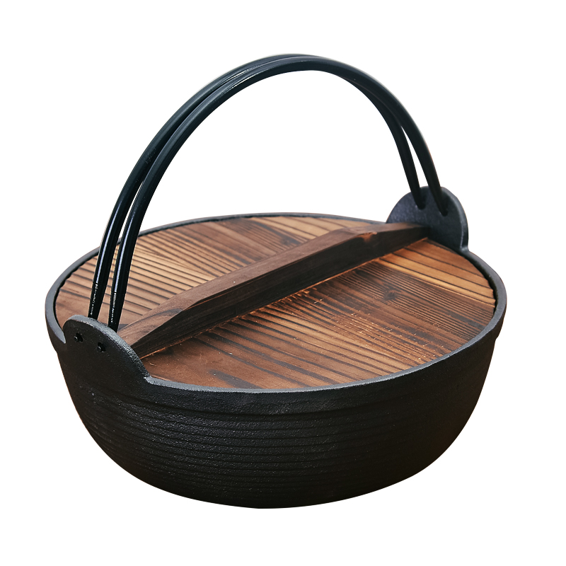 Japanese Cast Iron Non-Stick Pot 2