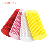 Wholesale 50pcs/lot 6 Colors 150 Mini Heart Shape Frozen Form For Ice Ice Cube Tray Silicone Ice Molds CM004