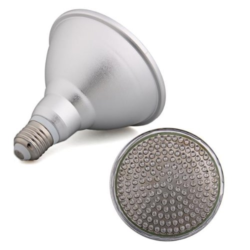 5 Pcs/Lot Wholesale E27 PAR38 LAMPADA 168 LED BLU 8W PER COLTIVAZIONE PIANTE
