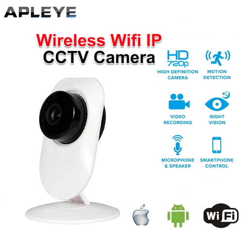 Mini P2P 720P HD Wireless IP Camera CCTV Security Surveillance Night Vision Baby Monitor Two Way Audio WiFi Camera