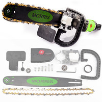 Jimbon Upgrade 5th 16 Inch Chainsaw Bracket Electric Saw Change M10+M14 Angle Grinder Into Chain Saw Woodworking Power Tool Set