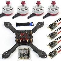 Threel X 3 К съемная рамка RS2306 2400KV бесколлекторный 30A ESC для RC FPV Racing Dshot Drone Quadcopter DIY комплект Игрушка
