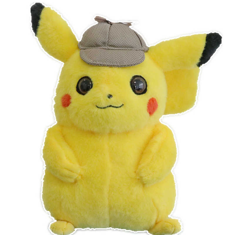 Pikachu Brinquedo de Pelúcia Nova chegada filme de Animação Detetive detetive Pikachu Bonito Anime kawaii Brinquedos de Pelúcia Bonecas brinquedos para As Crianças