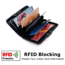 Aluminum Business Card Holder Rfid