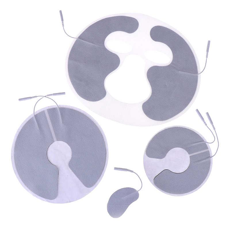 Массажер для головы/массажер для лица многоразовый электрод для груди прокладки для электрического иглоукалывания цифровой терапевтической машины 4 типа