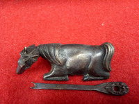 Alten kupfer türschloss der Chinesische alte kunst und handwerk
