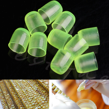 100 Uds copas de celdas de apicultura real goma taza de la abeja reina de equipo W215