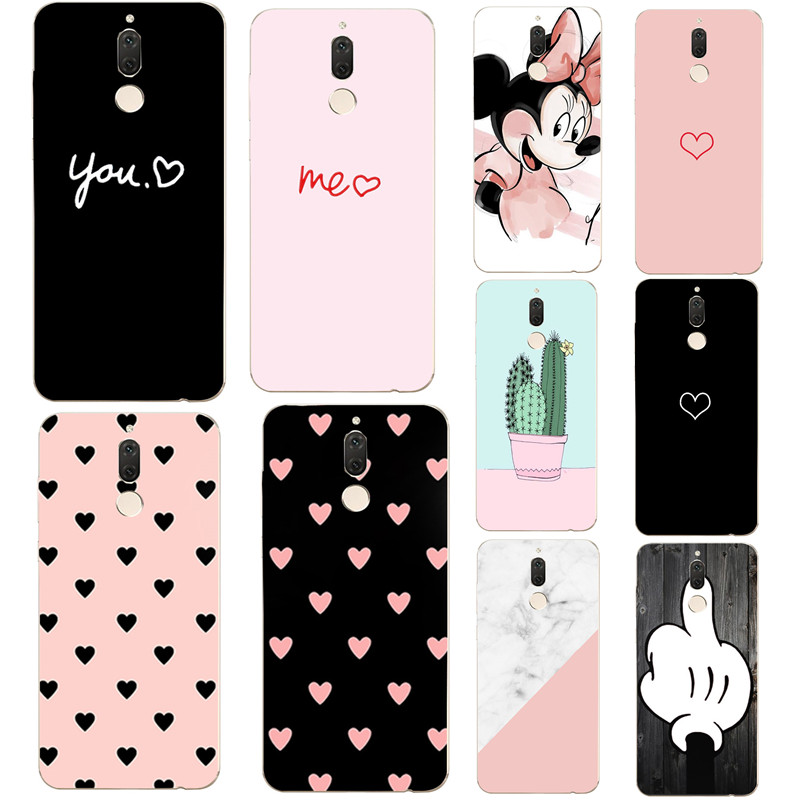 Silicone <font><b>Case</b></font> For <font><b>Huawei</b></font> Mate 10 Lite 5.9