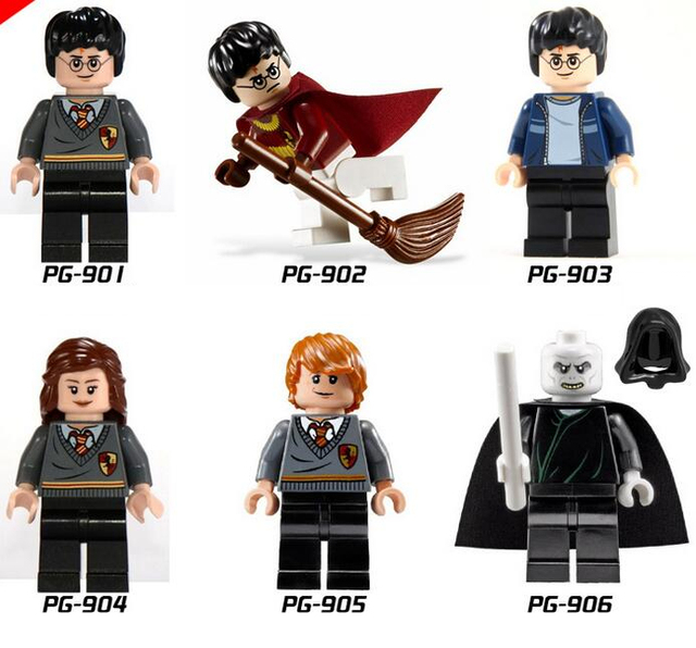2018 NEW Harry Potter Hermione Ronald Lord Voldemort Building Blocks Toys for Kids Gift Compatible with LegoINGlys MiniFigure