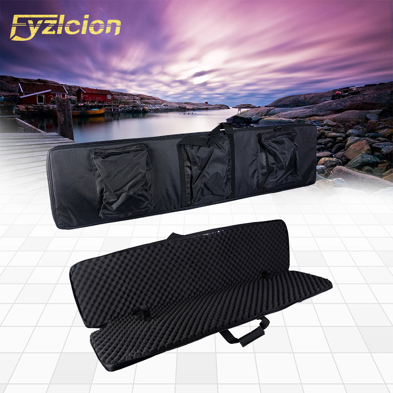 120cm 47 inch Shot~Gun Carrying Tactical Hunting Rifle Bags Polyester Construction Air Gun Protection Case Holsters Black