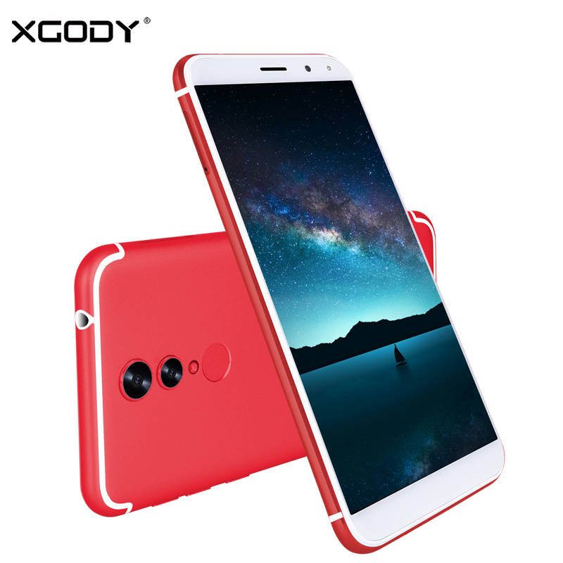 XGODY 18:9 Smartphone Face ID 5.72Full Screen Celular 1GB RAM 16GB ROM Android 6.0 MT6737 Quad Core Fingerprint 4G Mobile PhoneXGODY 18:9 Smartphone Face ID 5.72Full Screen Celular 1GB RAM 16GB ROM Android 6.0 MT6737 Quad Core Fingerprint 4G Mobile Phone