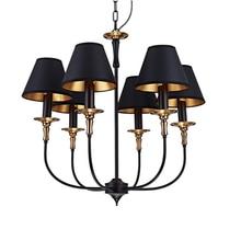 Led E14 Amerikanischen Eisen Stoff Lampe Licht Anhnger Pendelleuchte Pendelleuchten Fr Schlafzimmer Wohnzimmer E