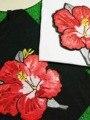 Большой размер tee Свободные 2017 Новый урожай О-Образным Вырезом топы тис свободная лето sexy party девушка красный поток Блестками leopard Тигр женщины Футболку