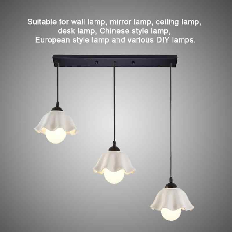 Держатель потолочного светильника винтажные потолочные светильники lampara de techo аксессуары для подвесных ламп