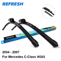 REFRESH Wiper Blades for Mercedes Benz C-Class W203 22