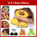 Almofadas do bebê assento de carro proteção na forma U almofadas de viagem para bebê moldar travesseiro para crianças de 0-8 anos