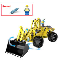 Building Blocks City Construction Engineering Team Vehicles Sets Bricks Classic Model Kids Toys Gifts Compatible Legoings Car(China)