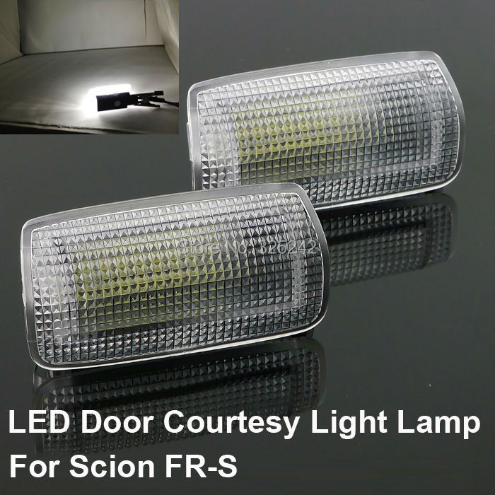 For Scion FR-S Excellent Ultra bright 3528 Epistar LED Door Courtesy Light Lamp No OBC error