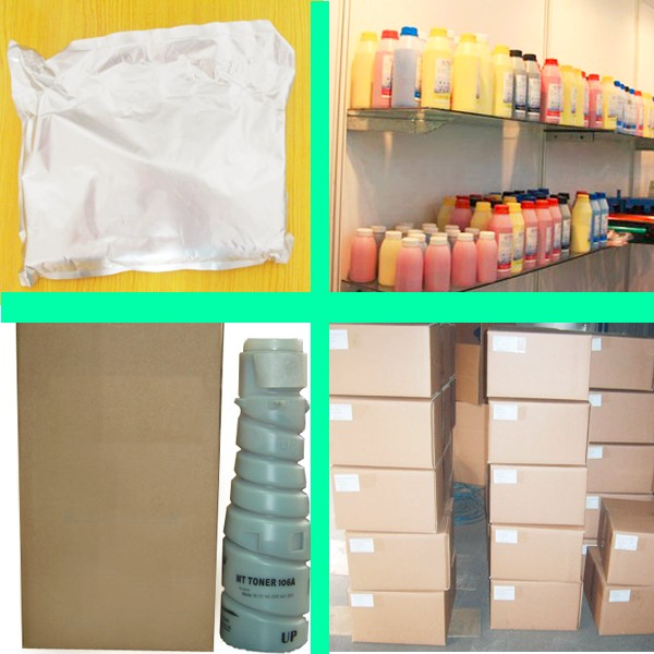 (1kgx4bags) kcmy color toner powder compatible for Canon LBP7200 refill color toner bulk toner free shipping