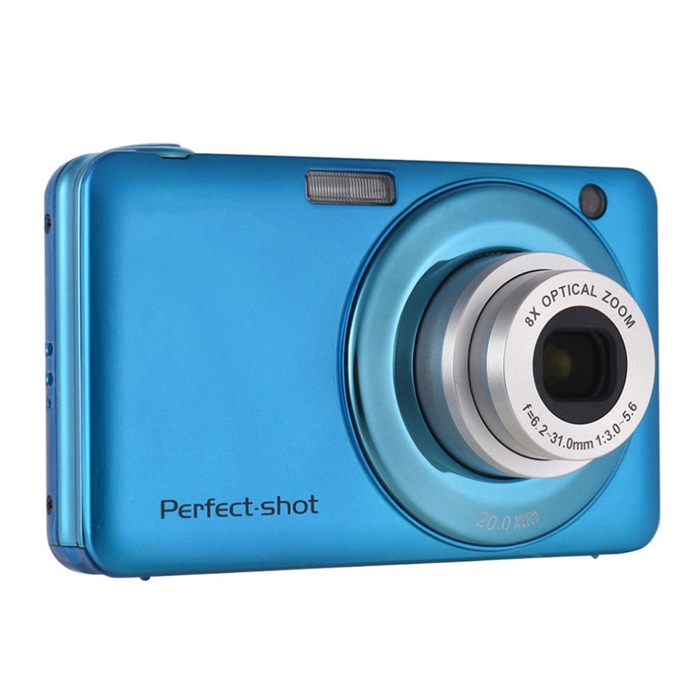24MP Portátil Câmera Digital HD 8x Foco Zoom Vídeo dslr camera Foto Video Record com JPEG Avi SD card