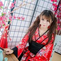 Girls Children Halloween Maid Cosplay Dress Anime Garnidelia Maid Cosplay Costumes Japanese Kimono Lolita Female Children