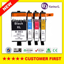 4PCS Compatible Ink Cartridge for hp 903 HP903 ( HP907 )XL suit for  Officejet Pro 6950 6960 6962 6963 6964 6965 6966