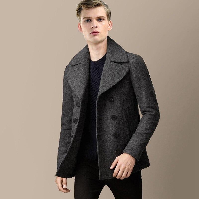 Online Get Cheap Mens Short Overcoats -Aliexpress.com   Alibaba Group