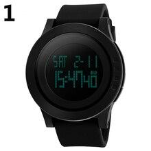 Любителей моды унисекс наручные часы Пары Открытый водонепроницаемый спортивные часы