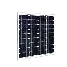 Panneau Solaire 12 v 50W 2 Pcs/Lot Solar Battery China photovoltaic Panel 100w Motorhome Car Camp Caravan LED Light System