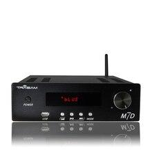 TRASAM M7D Remote Control Bluetooth/USB/APE/FLAC Lossless Player High Power Home Audio Amplifier 24Bit/192KHz 150W+150W AC220V