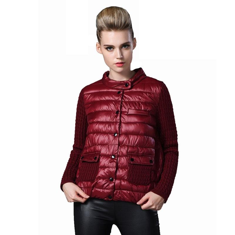 Automne Manteau Taille Fil Veste Vers Bas La Coton red Surdimensionné Parka Voobuyla Manches Le Femmes Green Couture 2017 Slim 7xl 6xl Court Plus Mode black 6qtTxwA10