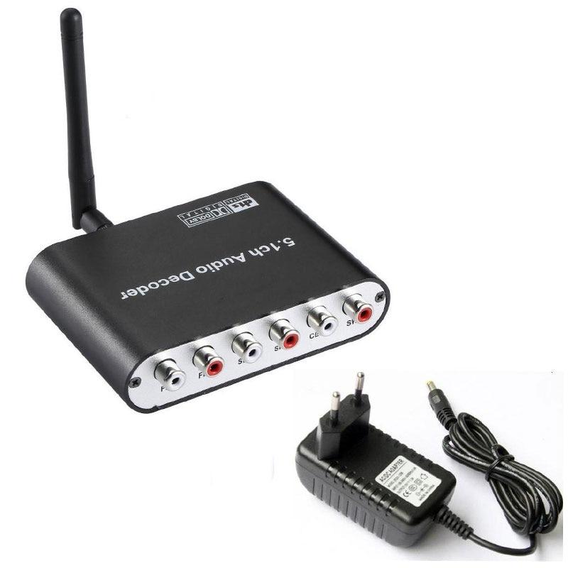 Nett Bluetooth Dac Optische Koaxial Zu 6 Rca 5.1ch Decoder Mit Bluetooth Empfänger Unterstützung Volumen Control 5.1ch Dts Dolby Für Telefon Exquisite Handwerkskunst; Tragbares Audio & Video