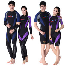 Buceo y vela 3 MM trajes de buceo mujeres surfingLong Sleeve Wear hombre Spearfishing encapuchado wetsuit para nadar(China)