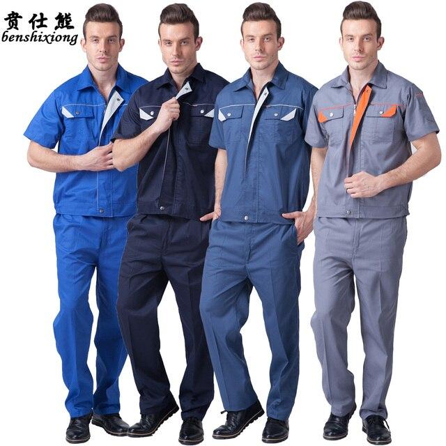 10sets set tooling uniform protective clothing male
