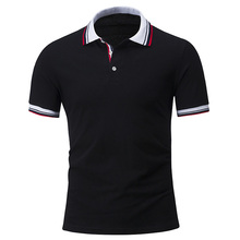 Hot Sale New Fashion Brand Cotton Mens Polo shirt Solid Color Short-Sleeve Slim Fit Male Shirt polo Shirts Casual Camisa