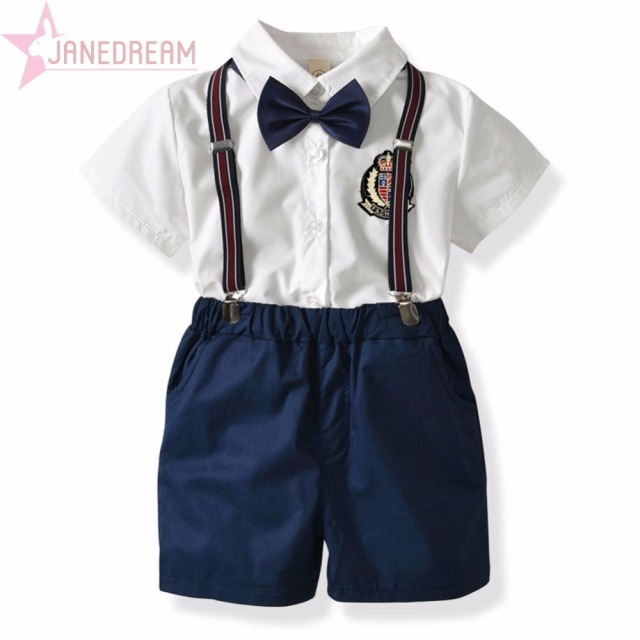 9134bb5f3f71 Janedream Summer Baby Boy Clothing Set Newborn Infant Clothing 2pcs ...