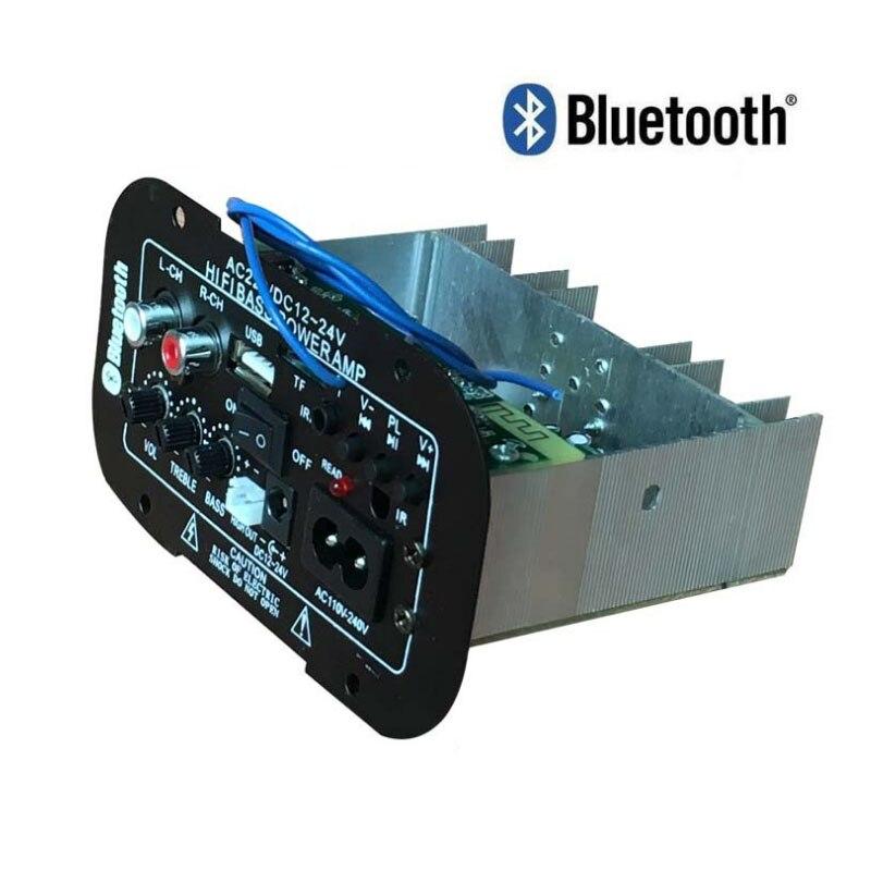 Car Audio Bluetooth Amplifier Board 60W 12V 24V 220V Auto Home