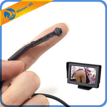 最小のミニcctvのカラーマイクロカメラへの接続のためモニター/テレビ直接dc 12v