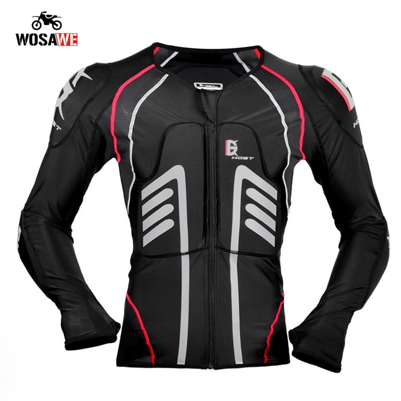 GHOST RACING Motorcycle Jacket Motocross Summer Jacket Protective safety Body Armor Moto Racing Jacket MTB Protection