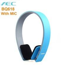 AEC BQ618 наушники Беспроводной наушники Smart Bluetooth V4.0 edr-наушники с микрофоном Поддержка 3,5 мм стерео аудио Поддержка громкой связи
